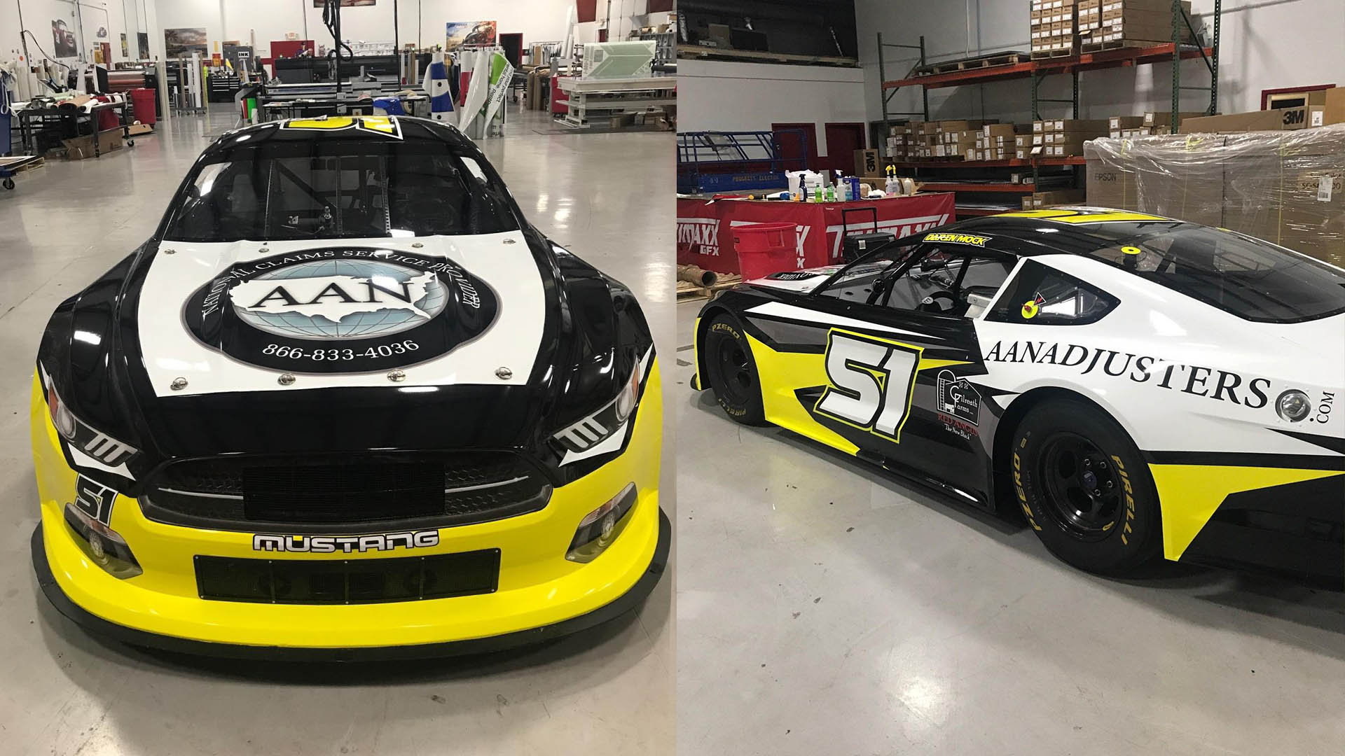 Darin Mock running for AAN Adjuster in the Trans AM series